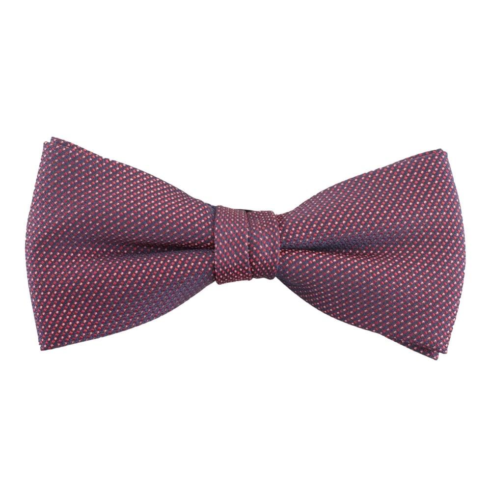 f6f3dae68839 Andrew Scott Patterned Bow Tie 27B Bordeaux
