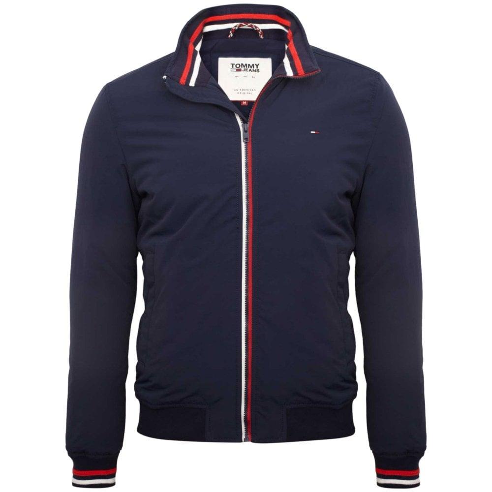 Tommy Hilfiger Bomber Jacket Regular Fit Blue