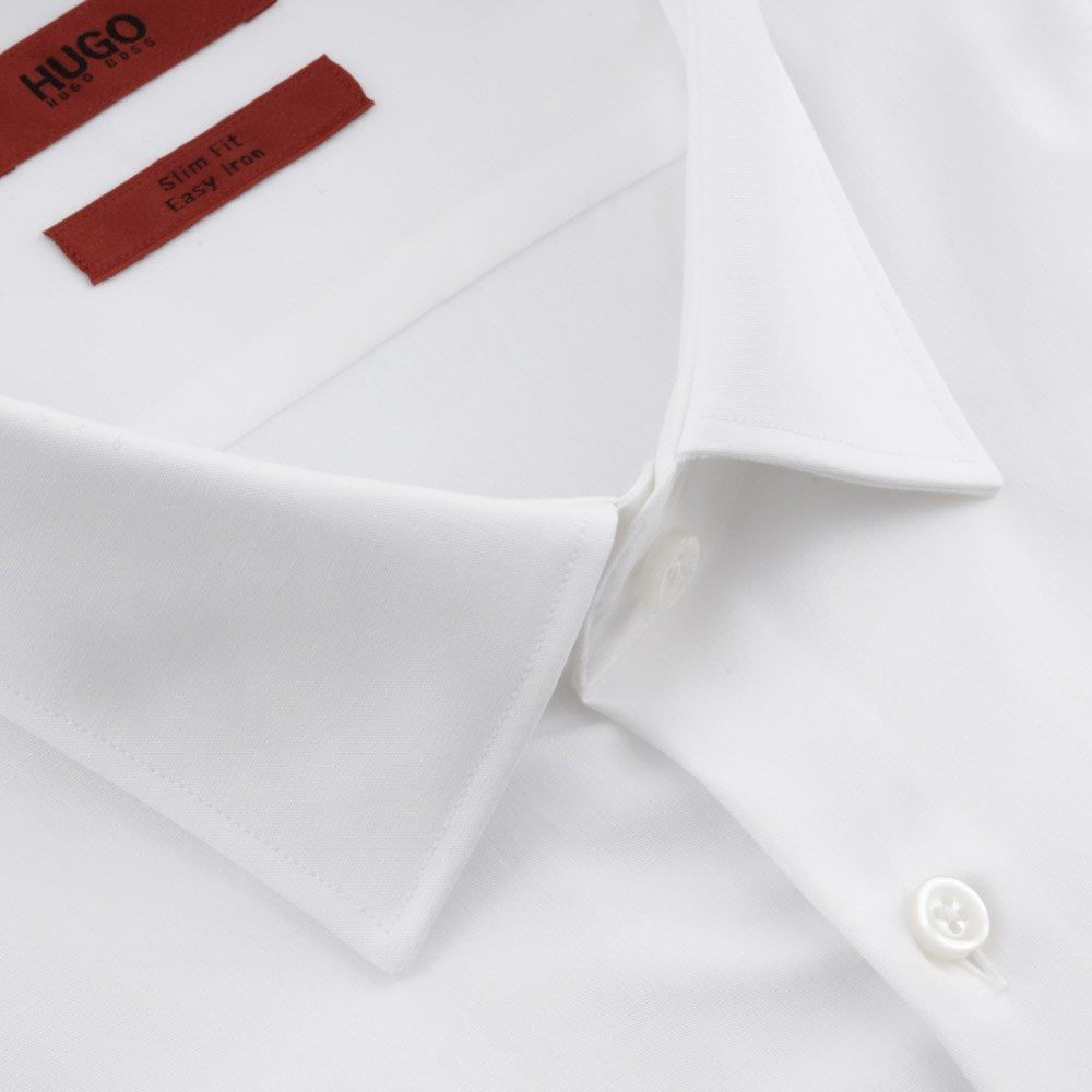 3c3846f49c33 HUGO Shirts Kales Slim Fit with Double Cuffs White 50387788-199
