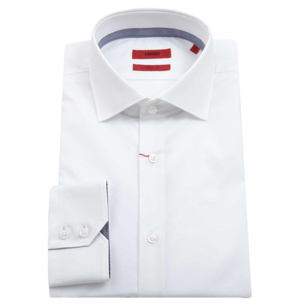 8b3d02c830 HUGO Shirt Veraldi Regular Fit White 50391623-199