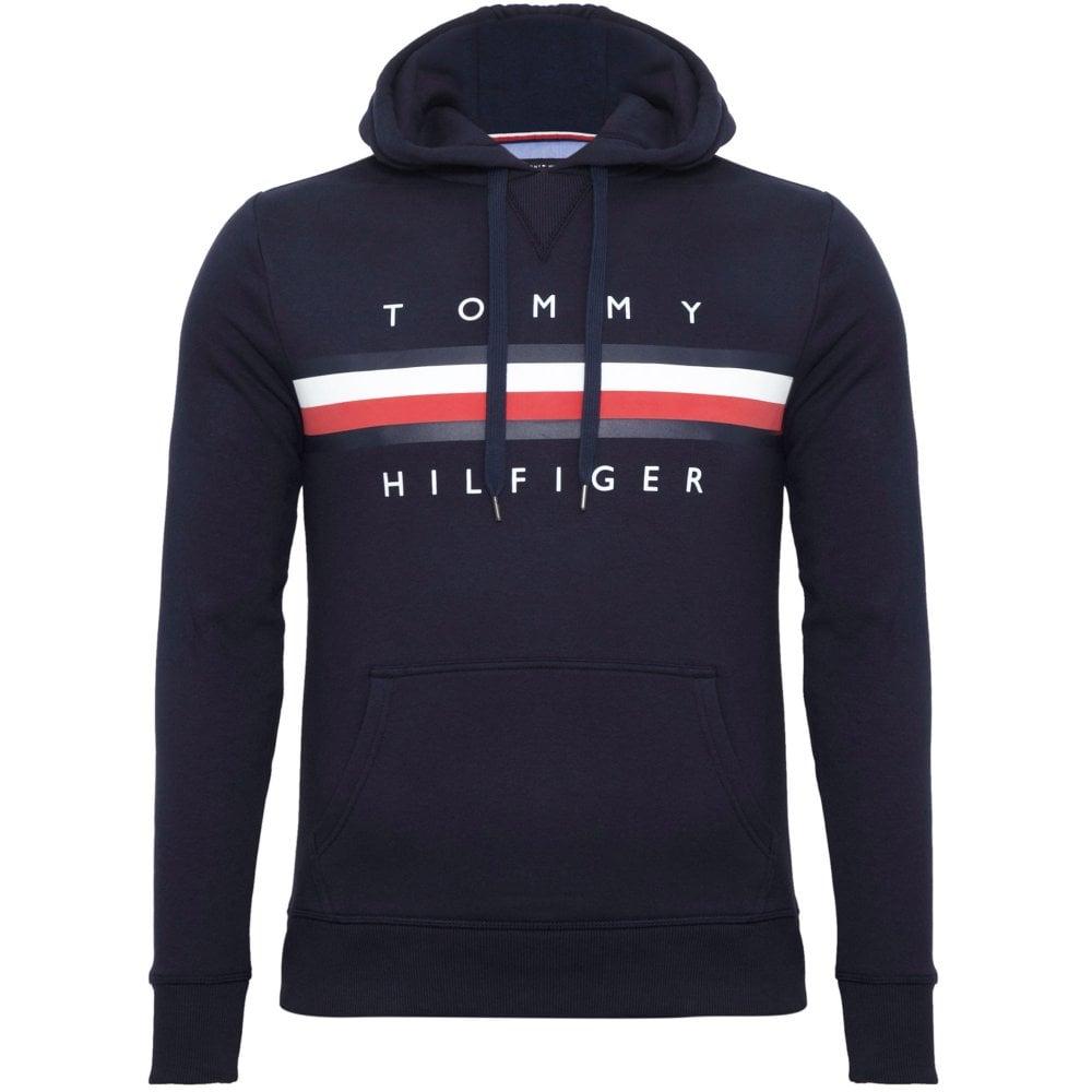 d5c8deb651fa8 Tommy Hilfiger Hoodie Regular Fit Blue