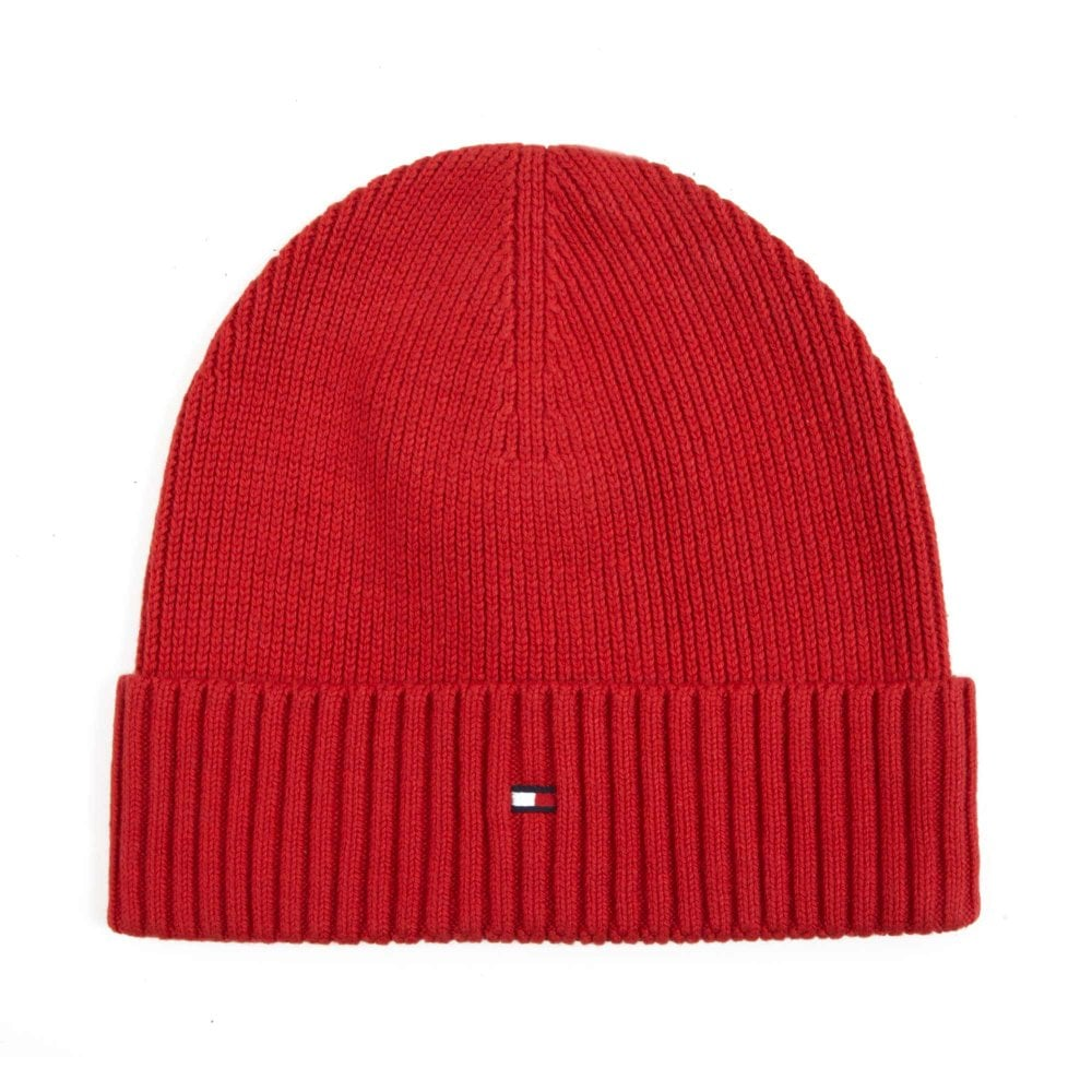 Tommy Hilfiger Knitted Cashmere Beanie Ted AM0AM03983-614 00f30b37673