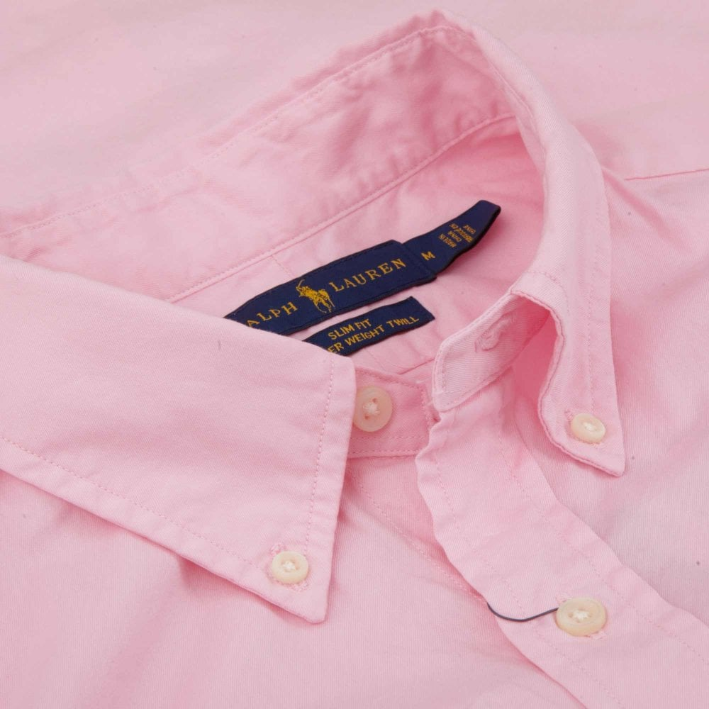 3565bd401097 Ralph Lauren FeatherWeight Shirt Slim Fit 710741788-010