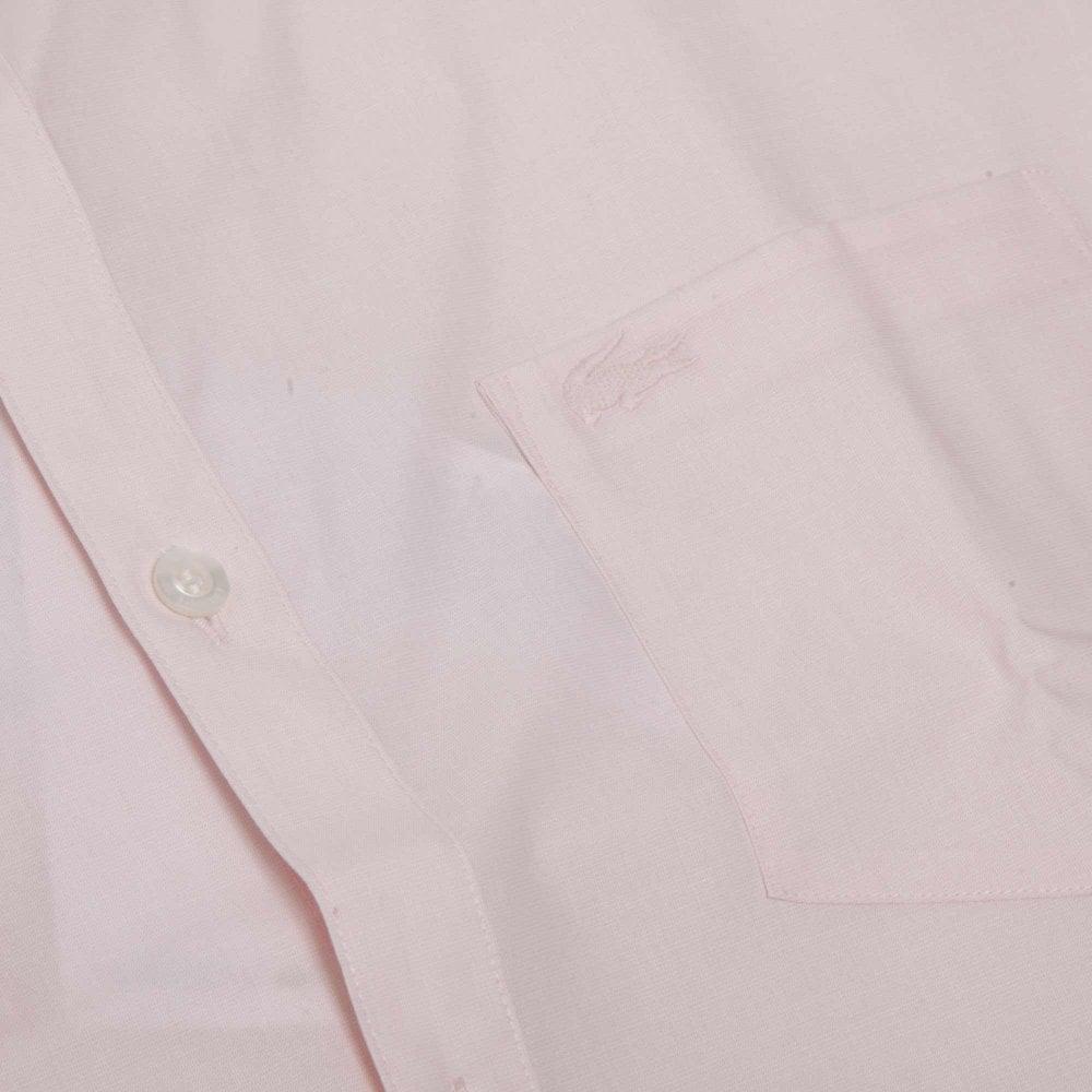 852816a90714 Lacoste Fil-à-Fil Shirt Regular Fit CH4861-99P