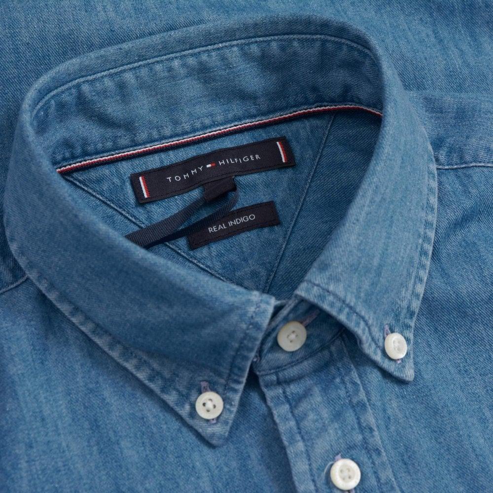 Denim Blau Tommy Hilfiger Kolt G74  Herren Jeans Trousers