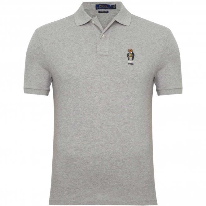 Shirt Gray Polo Bear Fit Pique Regular TlcFK1J