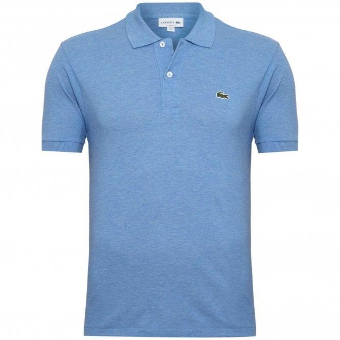 0848e7bfe Lacoste Pique Melange Polo Shirt Regular Fit L1264-EUA