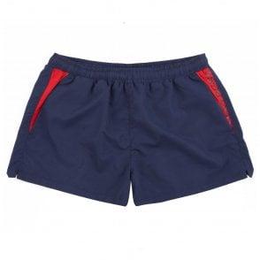 61faa235749 BOSS Swim Shorts White Shark Regular Fit 50407640-441