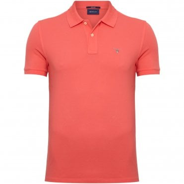7f966282d394 Gant Polo Μπλούζα Πικέ Κανονική Γραμμή